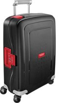 Samsonite Reiskoffer - S'Cure Spinner 55/20 (Handbagage) Black/Crimson Red