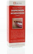 Dr. Fix Kapotte Mondhoeken Crème - 15 ml - Mondhoeken Crème