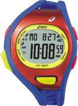 Asics CQAR0709 - Horloge - 47 mm - Rood/Blauwkleurig