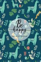 Be Happy Dot Grid Journal