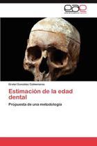 Estimacion de La Edad Dental