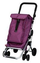 Playmarket - Boodschappentrolley - Go Up lila - Met cijferslot