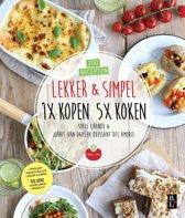 Omslag van 'Lekker & Simpel. 1x kopen 5x koken'