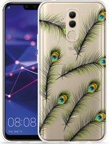 Huawei Mate 20 Lite Hoesje Peacock Feathers