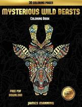 Adult Coloring Books (Mysterious Wild Beasts)