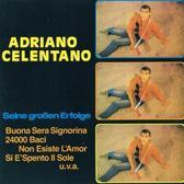 Adriano Celentano - Seine Grossen Erfolge