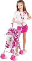 Luxury Pets Wandelwagen met Pluche Hondje