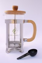 Furlo Kraft Bamboe French Press - Koffiemaker 1L met RVS filter