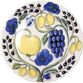 Arabia Paratiisi Dinerbord Plat bord - blauw - 21 cm
