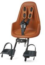 Bobike One Mini - Fietsstoeltje Voorzitje - Choc Brown