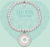 Heart to Get 925 Sterling Zilveren Bohemian Clover Armband  - Zilver