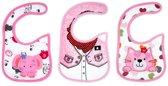 Duurzame baby slab - 3-Pack voor meisjes