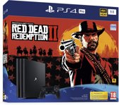 foto van PS4 PRO 1TB + Red Dead Redemption 2