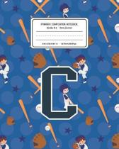 Primary Composition Notebook Grades K-2 Story Journal C