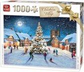 King Puzzel 1000 Stukjes - Christmas Village - Kerstpuzzel