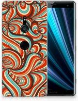 Sony Xperia XZ3 TPU Hoesje Design Retro