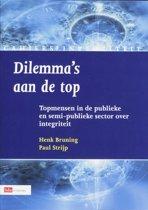 Cahiers Integriteit - Dilemma's aan de top 2