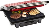 Bestron ASW113R - Panini Grill - Rood