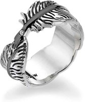 Hot Diamonds - Feather Ring   DR129/S