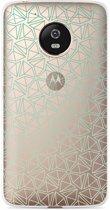 Motorola Moto G5 Plus hoesje Triangles