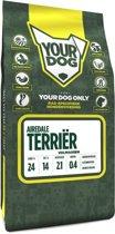 Yourdog airedale terriã?r  hondenvoer volwassen 3 kg