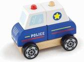 Viga Toys - Stapel Auto - Politie