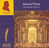 Mozart: Dances, KV65a, 103, 122, 123