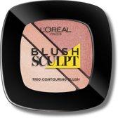 L'Oréal Paris Infallible Blush Trio - 102 Nude Beige