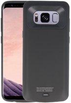 Zwart smart batterij Hoesje voor Samsung Galaxy S8 Plus