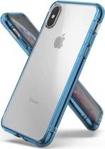 Blauwe Fusion Case voor de iPhone Xs / X