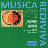 Musica Rediviva - Ullmann: Der zerbrochene Krug etc / Albrecht et al