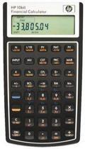 HP 10Bii+ - Bureaurekenmachine