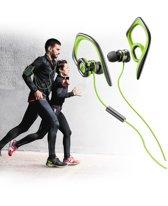 Cellularline Grasshopper oorhaak Stereofonisch Bedraad Zwart, Limoen mobiele hoofdtelefoon