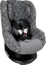 Dooky Seat Cover Groep 1 - Grey Leaves