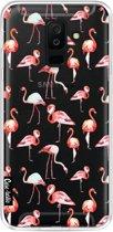 Casetastic Softcover Samsung Galaxy A6 Plus (2018) - Flamingo Party