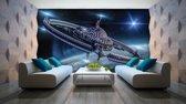 Fotobehang 3D | Grijs | 152,5x104cm