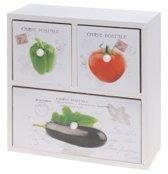 Kastje groente 3 laden