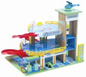 Le Toy Van Speelset Auto's Parkeergarage - Hout