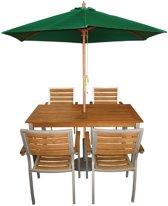 HorecaTrader ronde groene parasol