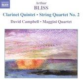 Bliss: Clarinet Quintet / Stri