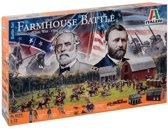 Italeri - Am. Civil War Farmhouse Battle 1:72 (Ita6179s)