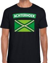 Zwarte Cross Achterhoek vlag t-shirt zwart voor heren - Zwarte Cross / festival kleding S