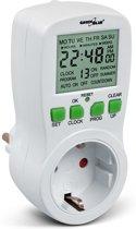 Digitale Tijdschakelaar Schakelklok Timer Greenblue GB107G  alleen voor contacten in NL