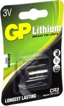 GP Batteries Lithium CR-2 Single-use battery CR2 Lithium-Ion (Li-Ion) 3 V