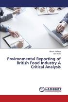Environmental Reporting of British Food Industry a Critical Analysis