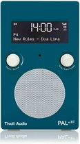 Tivoli Audio Limited Edition PAL+ BT - Draagbare radio in Deep Ocean Teal