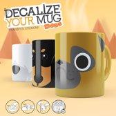 Mustard Desktop Drinkbeker Decoratie Your Mug Hond Assorti