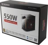 Xilence XP550R9 power supply unit 550 W ATX Zwart, Rood