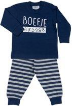 Fun2Wear Boefje Pyjama Navy maat 86