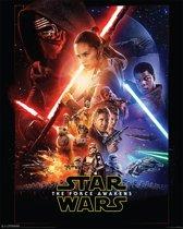 Star Wars Force Awakens - Poster 40 x 50 cm